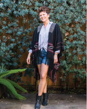 Angie - Wrap, slouchy and corey shorts